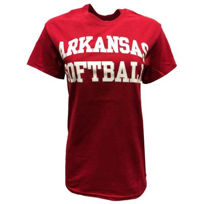 Arkansas Basic Softball T-Shirt