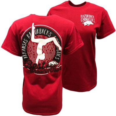 Arkansas Women's Gymnastic Best In Show Tee