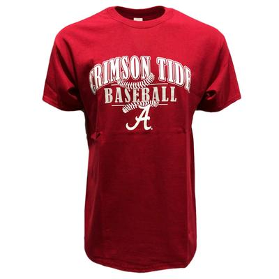 Alabama Arches Baseball Laces T-Shirt