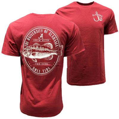 Alabama Comfort Colors Swim With The Tide Tee
