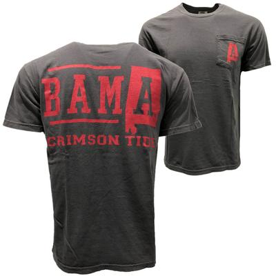 Alabama Crimson Tide Comfort Colors Pocket Tee