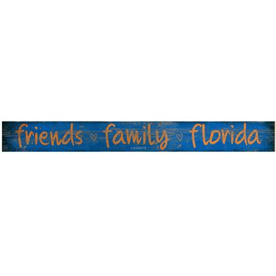 Florida Legacy Over the Door Friends and Family Plank Sign