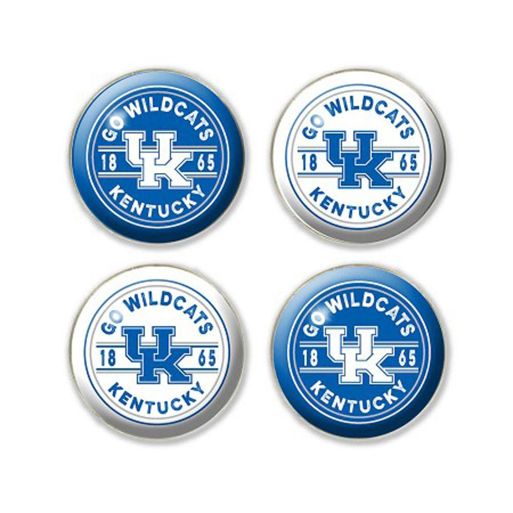 Kentucky Legacy Go Wildcats Fridge Magnets - 4 Pack