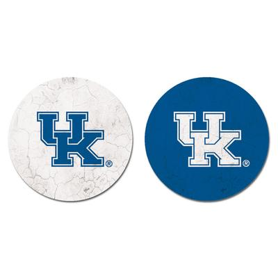 Kentucky Legacy Logo Car Coaster 2 - Pack