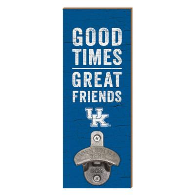Kentucky Legacy Good Times Wall Mount Bottle Opener