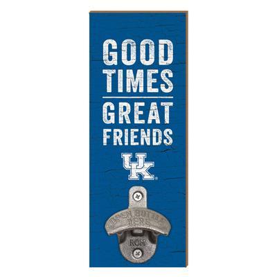 Kentucky Legacy Good Times Wall Mount Bottle Opener