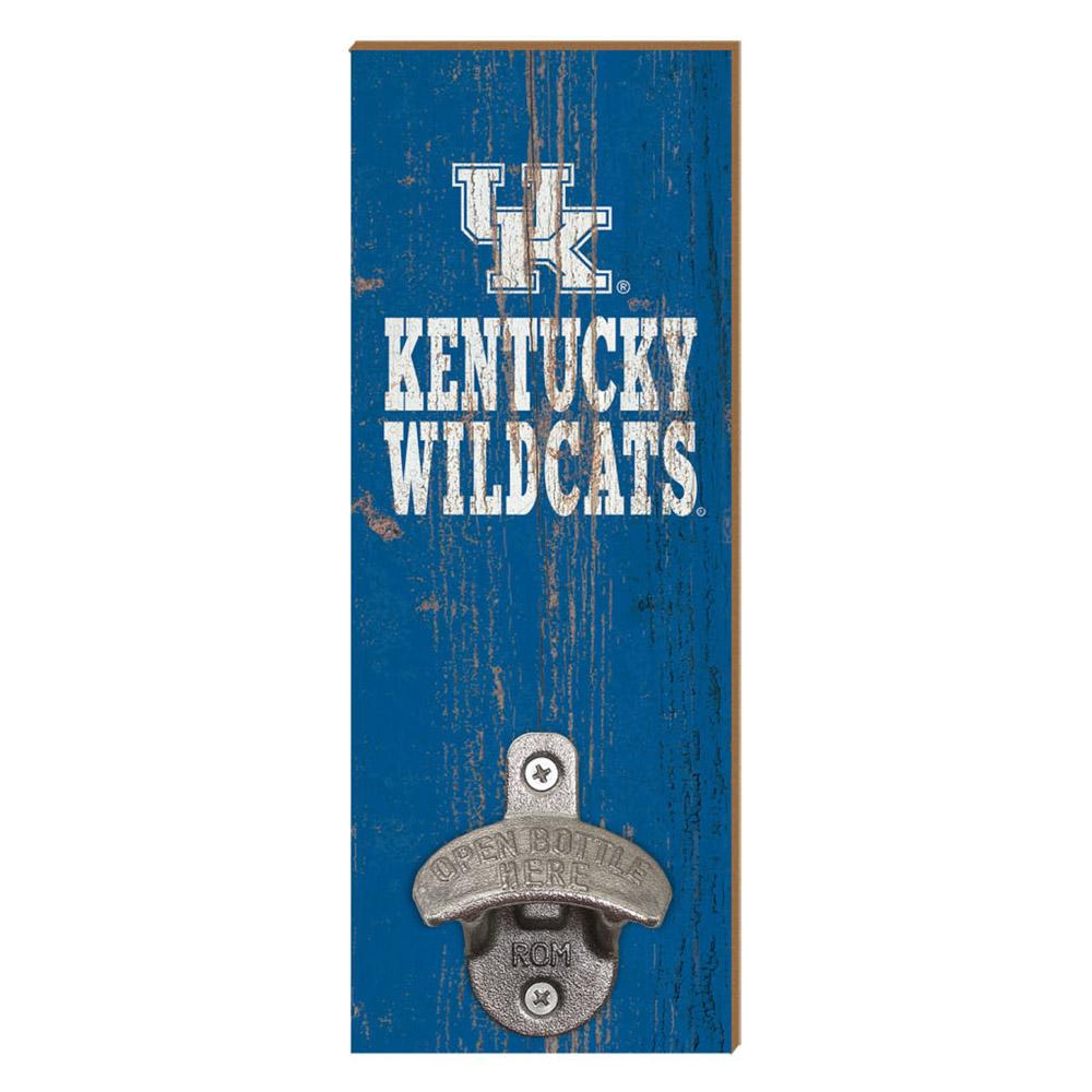 Kentucky Wildcats Legacy Wall Mount Bottle Opener