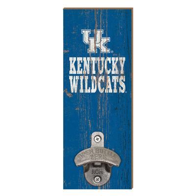 Kentucky Wildcats Legacy Wall Mount Bottle Opener