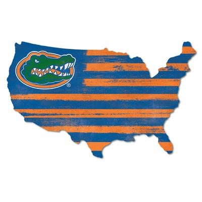 Florida Legacy Gator Nation Wood Cutout
