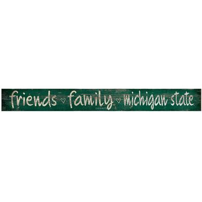 Michigan State Legacy Door Plank Friends And Family 4