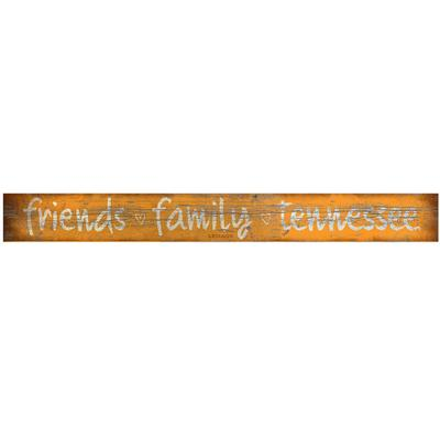 Tennessee Legacy Friends And Family Plank Door Sign