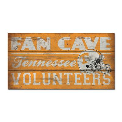 Tennessee Legacy Wooden Fan Cave Sign