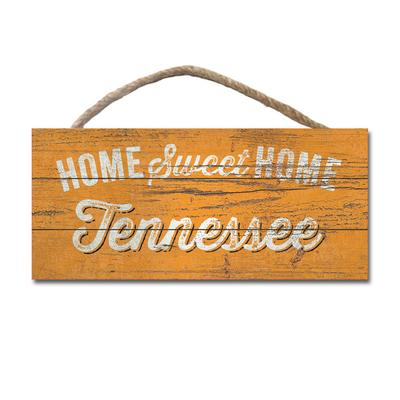 Tennessee Legacy Home Sweet Home Wooden Hanging Sign