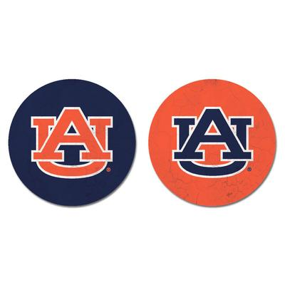 Auburn Legacy Primary Logo Car Coasters
