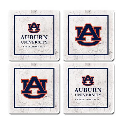 Auburn Legacy Ivy League Coaster Set