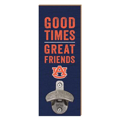 Auburn Legacy Good Times Wall Mount Bottle Opener