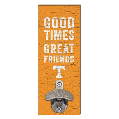 Tennessee Legacy Good Times Wall Mount Bottle Opener