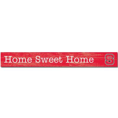 NC State Legacy Home Sweet Home Doorway Plank - 4
