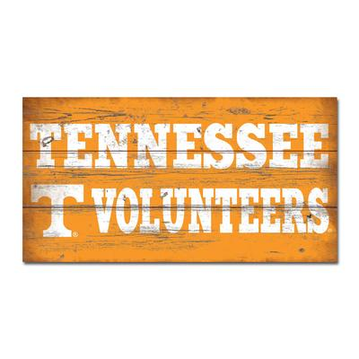 Tennessee Legacy TN Vols Wooden Sign