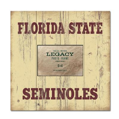 Florida State Legacy University Picture Frame