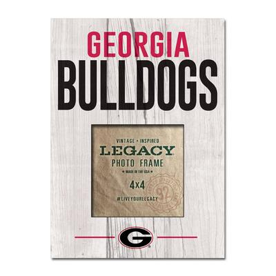 Georgia Bulldogs Legacy Stack Picture Frame