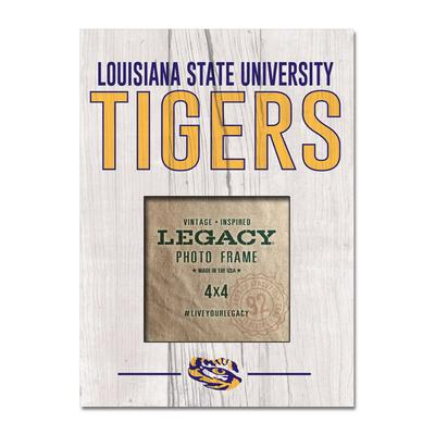 LSU Legacy Vertical Stack Picture Frame