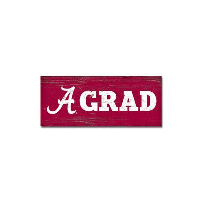 Alabama Legacy Grad Mini Table Top Stick - 2.5