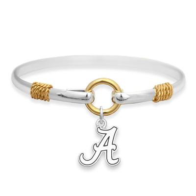 Alabama Two Tone Rope Bracelet