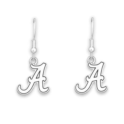 Alabama Antiqued Logo Earrings