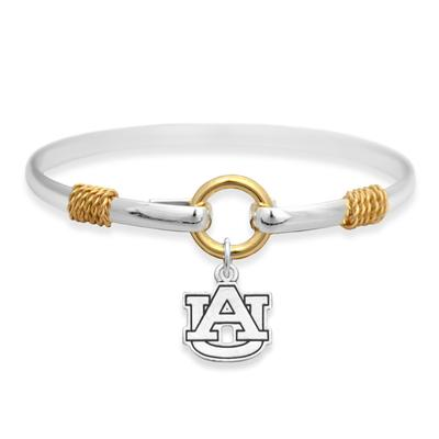 Auburn Two Tone Rope Bracelet