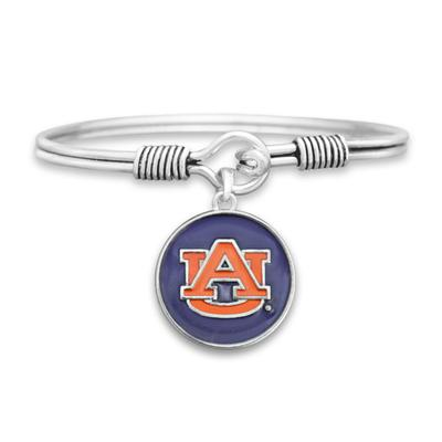 Auburn Campus Chic Iridescent Wire Bangle