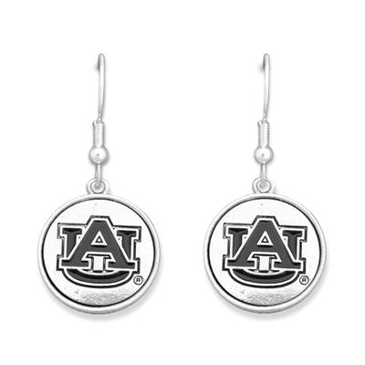 Auburn Silver Linings Medallion Earrings