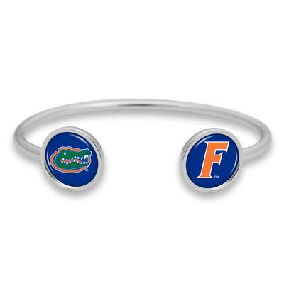 Florida Double Spirit Dome Cuff Bracelet