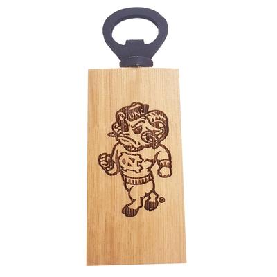 UNC Timeless Etchings Rameses Mini Bottle Opener