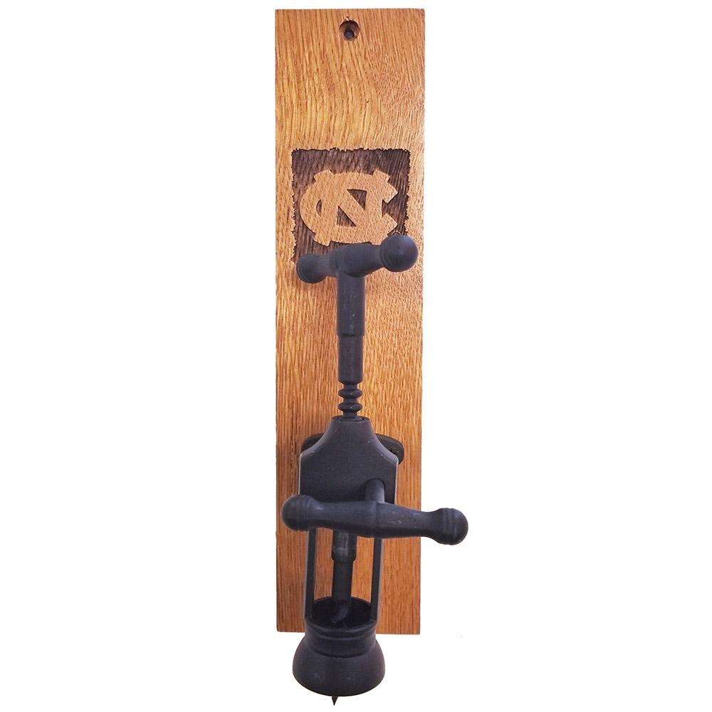 Unc Timeless Etchings Wall Mounted Wine Opener