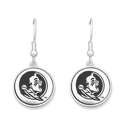 Florida State Silver Linings Medallion Earrings
