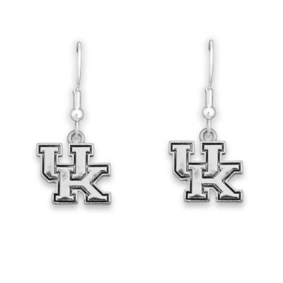 Kentucky Antiqued Logo Earrings