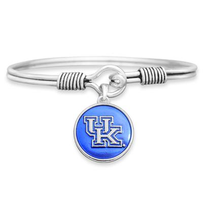 Kentucky Campus Chic Iridescent Wire Bangle