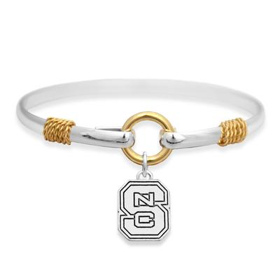 NC State Two Tone Rope Bracelet
