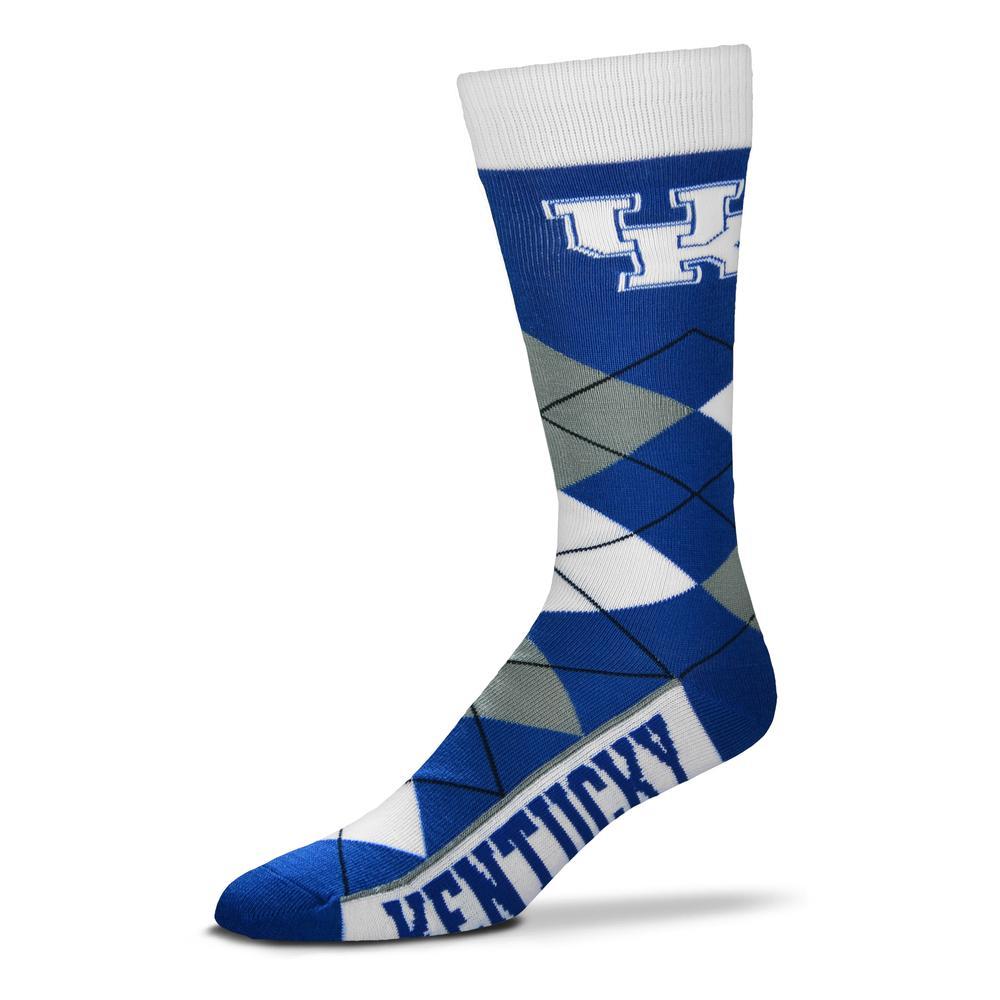 Kentucky Fbf Originals Men's Argyle Socks