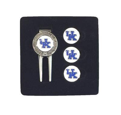 Kentucky Divot Tool And Ball Marker Set