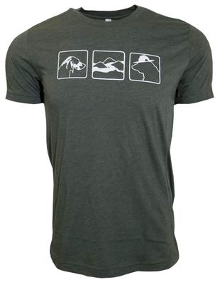 3 Smokies Short Sleeve T-shirt