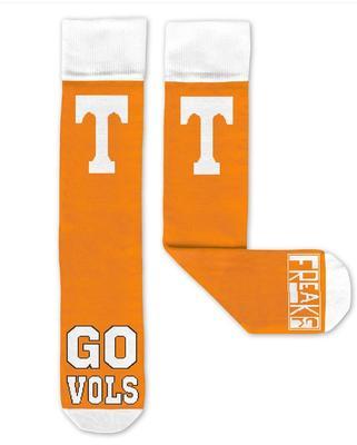 Tennessee Go Vols Freaker Socks