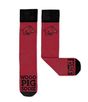 Arkansas Woo Pig Freaker Socks