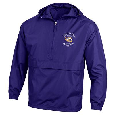 LSU Champion Unisex Pack and Go Jacket