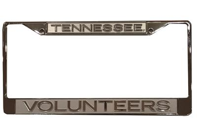Tennessee Volunteers Frosted Licensed Plate Frame