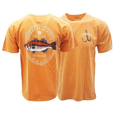 Auburn Comfort Colors Get Hooked On The Tigers Tee