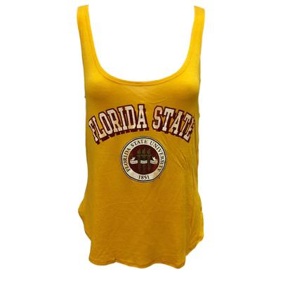 Florida State Retro Brand Vintage Seal Tank