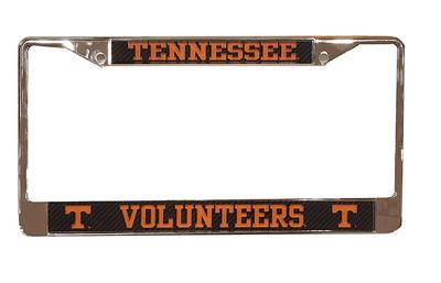 Tennessee Carbon Fiber License Plate Frame