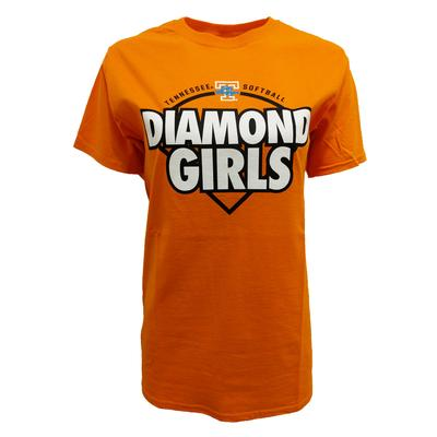 Tennessee Lady Vols Diamond Girls Tee